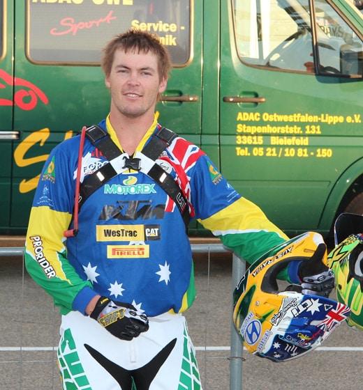Toby Price Motorex KTM Australia